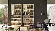 Bookcase D.357.1 D.357.2 Bookshelves by Molteni & C - Via Designresource.co