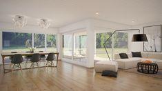 idee per mobili soggiorno moderni con divano e poltrone chiare ...