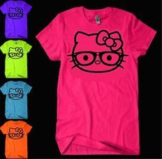 Hello Kitty Nerd Glasses T-Shirt