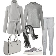 Only grey  outfit donna Basic per scuola universit   1dcde29a2e9