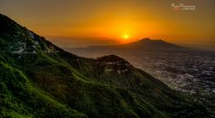 Sunset above Mount Vesuvius, Pompei, Italy by PhotonPhotography -Viktor Lakics on 500px.