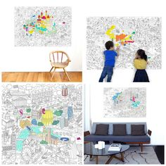 Huge colouring pages