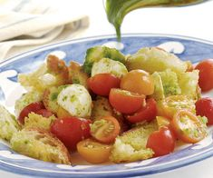 Cherry Tomato and Basil Salad | Recipe | Cherry Tomatoes, Tomato Basil ...