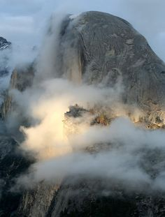 Half Dome  Yosemite National Park.