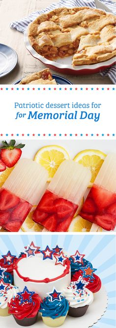 Kick of the summer with the tastiest patriotic dessert ideas at Sam's Club. From pies to custom themed cakes, find everything you need to throw the sweetest Memorial Day party with all of your family and friends.