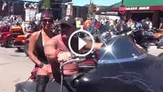 This year's 75th Annual Sturgis Motorcycle Rally was incredible! Check out the video to get a taste of the 2015 Sturgis Rally, tour the beautiful bikes on main street, and meet Sturgis' hottest bartenders.  WATCH  HERE: http://blog.bikerornot.com/a-taste-of-sturgis-motorcycle-rally-2015/?ref=pinterest-081115-0832