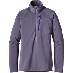 Patagonia Women's R1 Pullover - XL - Lupine