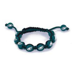 Philadelphia Eagles Bead Bracelet (Eag Team) ($19) ❤ liked on Polyvore