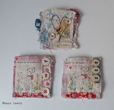 hand stitched brooches   Flickr - Photo Sharing!