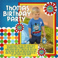 Digital: Thomas Birthday Party