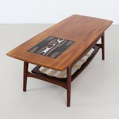 Located using retrostart.com > Coffee Table by Louis van Teeffelen and Jaap Ravelli for Wébé