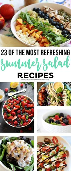 23 of the Most Refreshing Summer Salad Recipes