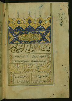Illuminated Manuscript of One Hundred Sayings, Opening dec… | Flickr