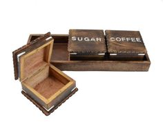 Handcrafted Wooden Tea Coffee Sugar 3 Piece Canister Set with Antique Finish - 17 inch Tray The Modish Store,http://www.amazon.com/dp/B00D8RAJUI/ref=cm_sw_r_pi_dp_eAbMsb0YVWPY0BEK