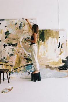 'VISIONS' — Ash Holmes Art Kunst Inspo, Art Inspo, Modern Art, Contemporary Art, Artist At Work, Artist Art, Art Studios, Art Blog, Les Oeuvres