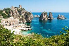Scopello, Sicilië