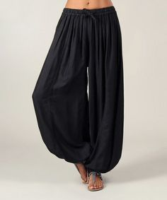 Another great find on #zulily! Black Harem Pants #zulilyfinds More