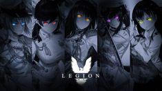 Legion by AchzatrafScarlet on DeviantArt Gfx Design, Deviantart, Anime, Movie Posters, Movies, Film Poster, Films, Anime Shows, Movie