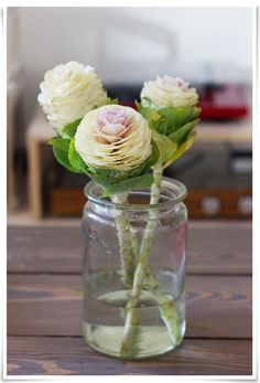 cabbage flowers! // photo by Eeva Kolu, Kaikki mitä rakastin -blog