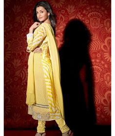 Kajal Agarwal in Yellow Designer Dress