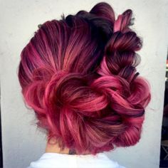 HEATHER CHAPMAN'S BRAID + BRIDAL STYLING CLASS #HeatherChapman #RopeBraid #BridalHair #PinkHair