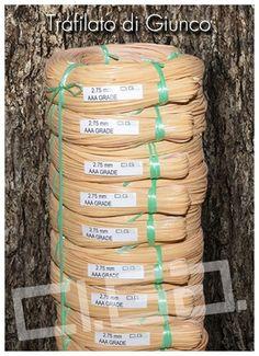 Trafilato di Giunco - Ci.Ga. Import / Export s.r.l. importa e commercializza materie prime di alta qualità: tessuto di vienna, trafilato di giunco, canne di bamboo, radici, cresh, salice, midollino di giunco, manao,malacca, manila, vimini, erba palustre, cordoncino cinese e filati in carta cellulosa di ogni genere.