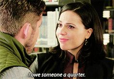 I owe someone a quarter....