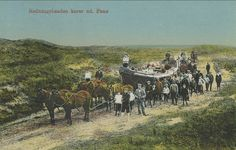 Fanø. Redningsbaaden kører ud. - Emnenummer 189550 - DFF frimærkesalg - Frimærker og postkort