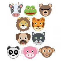 Animal Emoji SVG Cuttable Designs