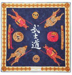 Rubinacci - Samurai Printed Silk-Twill Pocket Square