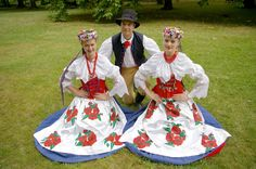 Regional costumes from Bytom, Silesia, Poland