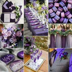 Ultra Violet is color of the year, and it makes for truly stunning wedding accents! 2018 Wedding Colors, Purple Wedding Decorations, Hair Ribbons, Wedding With Kids, Color Of The Year, Wedding Wear, Ultra Violet, Wedding Inspiration, Infinity Dress