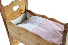 Baby Bettdeckenbezug Vichy2 rosa-weiß von LieblingBerlin-Zuhause&Unterwegs auf DaWanda.com