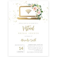 Virtual Bridal Shower Invitation | Forever Your Prints
