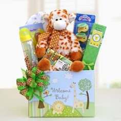 Wild Welcome for Baby