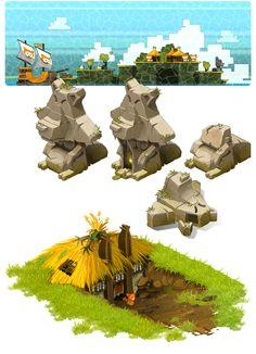 Concept Art : L'île des Wabbits