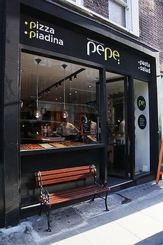 Rarely without a lunchtime visit-Pepe Food - London | Italian food, Italian pizza, Italian pasta, Italian salad, Italian piadina