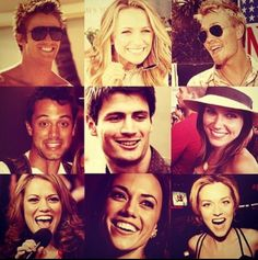 One Tree Hill Cast. Best show of all time! Best Tv Shows, Best Shows Ever, Favorite Tv Shows, Favorite Things, Les Freres Scoot, One Tree Hill Cast, Lucas And Peyton, Peyton Sawyer, People Always Leave
