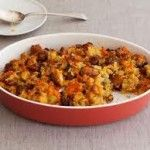 Low Fat Gluten Free Cornbread Stuffing Traditional stuffings are loaded with sodium, fat and glutinous carbs. Instead, try our homemade cornbread stuffing - It's really satisfying and it wont ruin your diet!