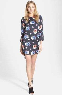 Topshop Floral Tunic Dress on shopstyle.com