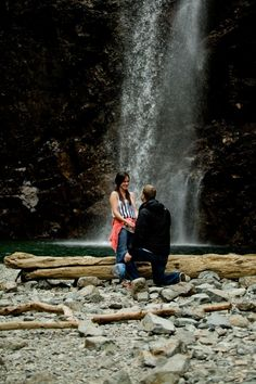 Marriage Proposal Ideas from HowHeAsked Carly and Jamin's Adorable Waterfall Proposal Romantic Proposal, Perfect Proposal, Proposal Ideas, Wedding Proposals, Marriage Proposals, Perfect Date, Girls Weekend, Wedding Photos, Wedding Ideas