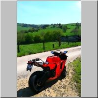 Ducati Desmosedici RR nr 282/1500, ordered June 2006, delivered April 2008, stolen June 2011 after 22000 km on the road and tracks...   Pictures modified as sketches...