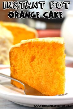 We've got this beginner-friendly Instant Pot dessert recipe that you should try. This best tasting Orange Cake recipe is super easy to make and fail-proof too. Try it today! #instantpot #instantpotdesserts #orangecake #desserts #familyrecipe #foodidea #dessertideas #easydessert Best Instant Pot Recipe, Instant Pot Dinner Recipes, Easy Desserts, Delicious Desserts, Birthday Snacks, Easy Pressure Cooker Recipes, Cake Recipes, Dessert Recipes, Best Party Food