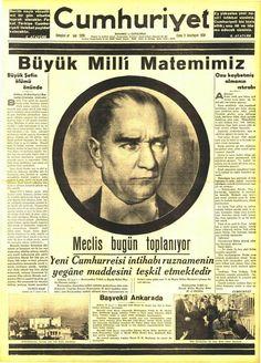 Atatürk -  cumhuriyet  10.11.1938