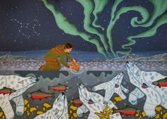 """Blessing of the polar bears"" Chholing Taha, Cree"