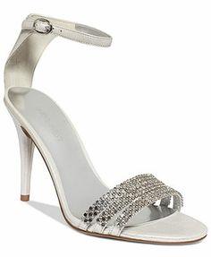 $70 Nine West Sabrinna Ankle Strap Evening Sandals