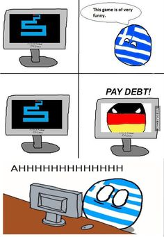 Greece Ball Cannot Into Clear Debts!