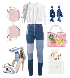 """""""Untitled #21"""" by jasminsangalyan on Polyvore featuring Caroline Constas, RE/DONE, Boohoo, Dolce&Gabbana, Kate Spade and Marc Jacobs"""