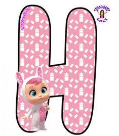 Baby Party, Cry Baby, Crying, Party, Letter Crafts, Boy Character, Baby Birthday Parties, Flower Letters, La Llorona