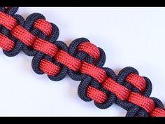 "Make the ""Serpent River Bar"" Paracord Survival Bracelet - BoredParacord.com - YouTube"
